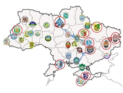Clubes Ucrania