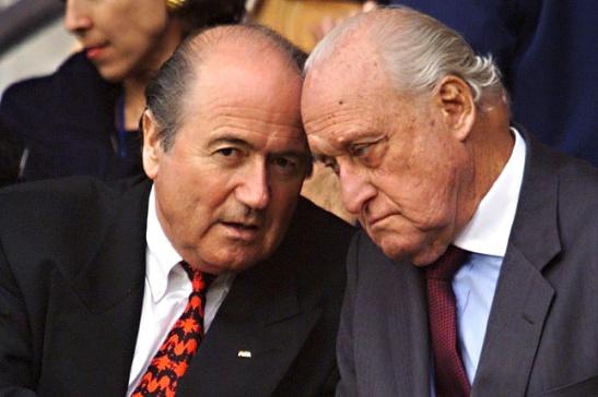 Havelange instauró el modelo del fútbol negocio. Blatter, su sucesor, lo continuó.