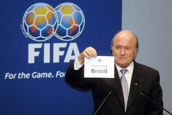 Brasil designado sede del Mundial 2014