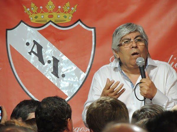 Nuevo presidente de Independiente (imagen via losandes.com.ar)