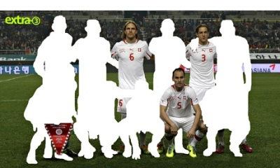 Swiss football team after players with a multicultural background have been cut out