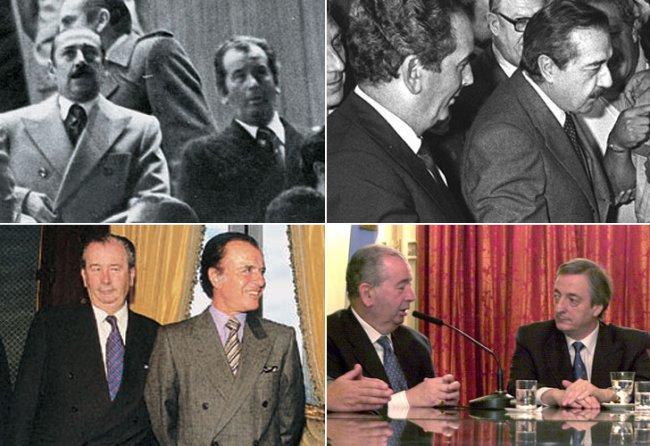 Grondona y su relación con los distintos presidentes (foto vía Diario Perfil)