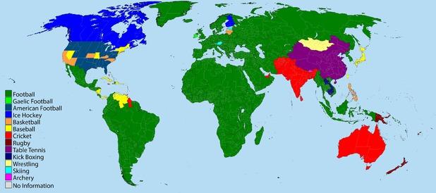 El fútbol es el deporte más popular del mundo (foto vía digitalspy.com)