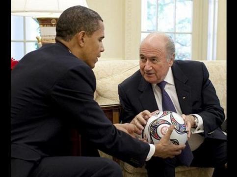La FIFA es un actor de poder a nivel trasnacional. La intervención de Obama excede al fútbol