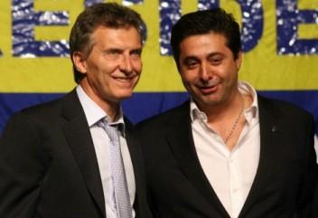 Macri con su hombre de confianza y la necesidad de mantener la dirección de un pilar de su carrera política (foto via libreexpresion.net)